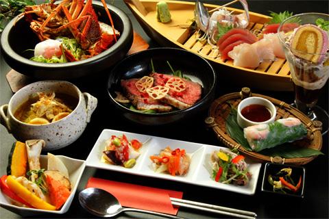 創作アジアン料理 イメージ